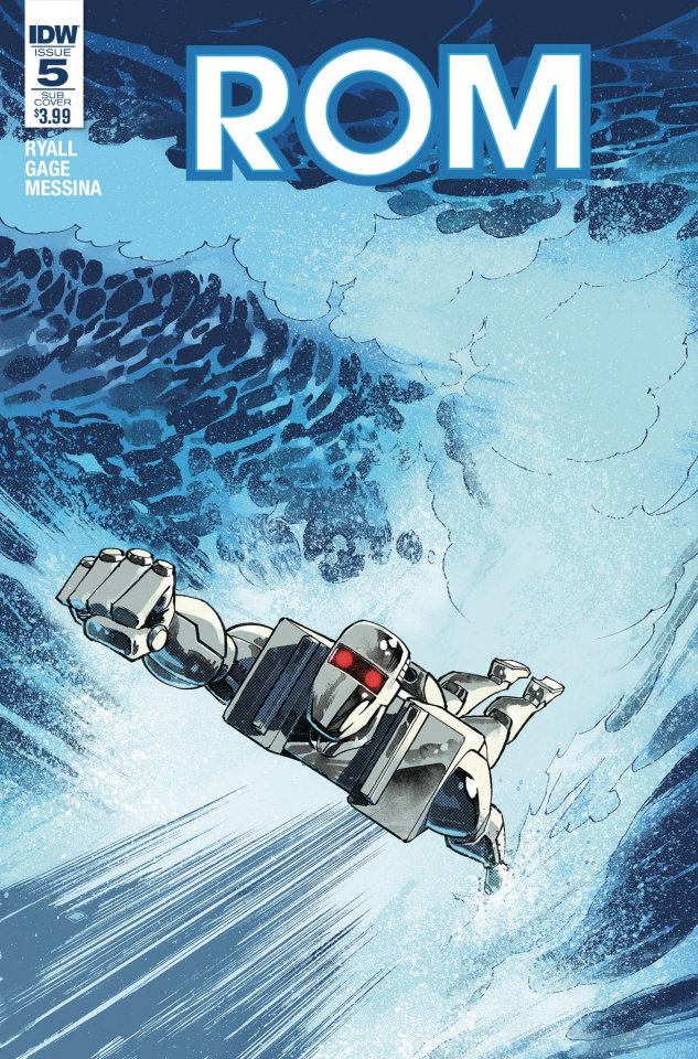 ROM #5 (Subscription Cover)