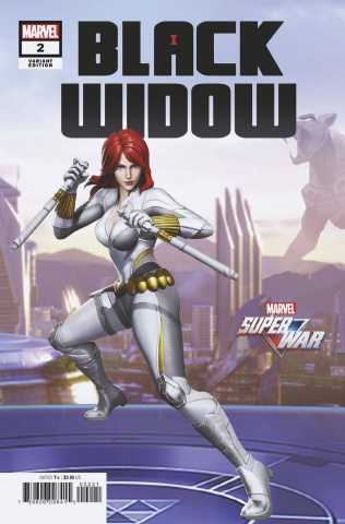 Black Widow #2 (Game Cover)