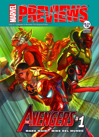 Marvel Previews #16: November 2016 Extras