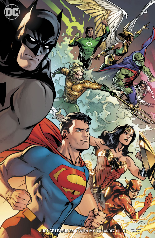 Justice League #26 (Variant Cover)