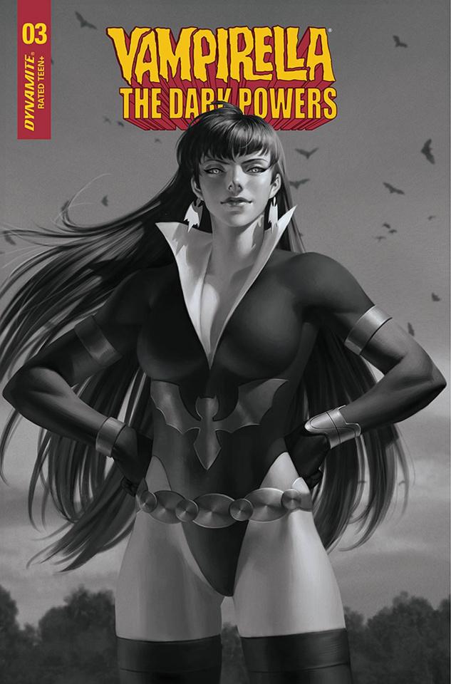 Vampirella: The Dark Powers #3 (30 Copy Yoon B&W Cover)