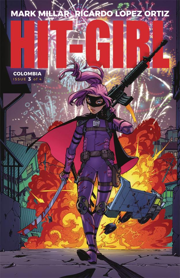Hit-Girl #3 (Reeder Cover)