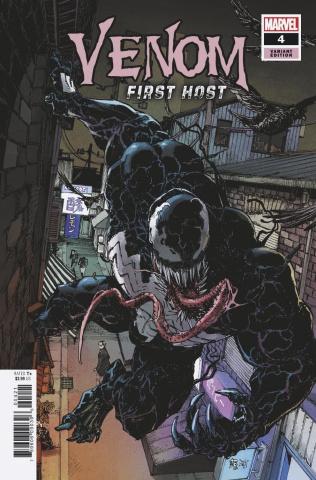 Venom: First Host #4 (Miyazawa Cover)
