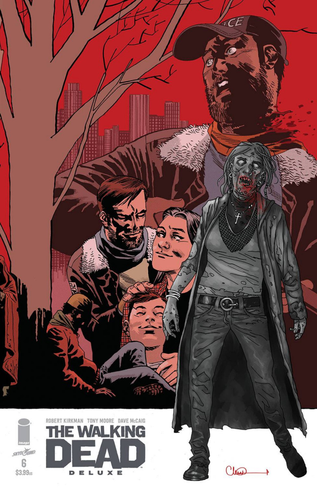 The Walking Dead Deluxe #6 (Adlard & McCaig Cover)