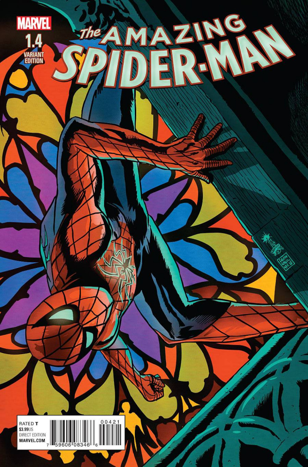 The Amazing Spider-Man #1.4 (Variant Cover)