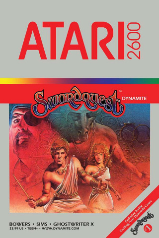 Swordquest #1 (Classic Game Art Cover)
