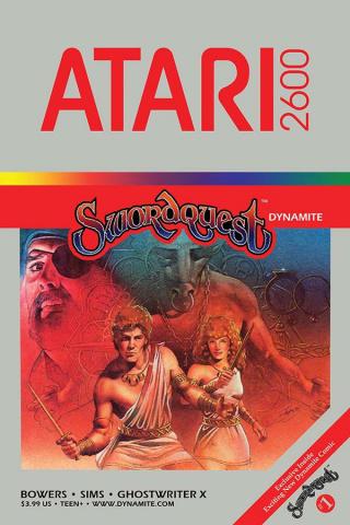 Swordquest #1 (Classic Game Art Cover)