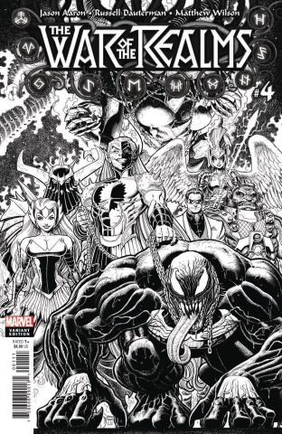 The War of the Realms #4 (Art Adams B&W Cover)