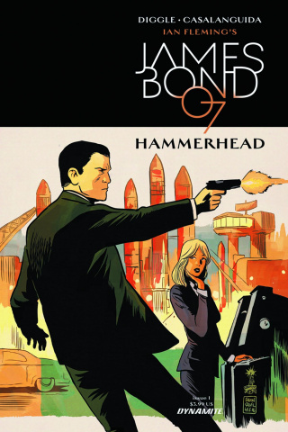 James Bond: Hammerhead #1 (Francavilla Cover)