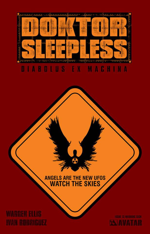 Doktor Sleepless #13 (Warning Sign Cover)