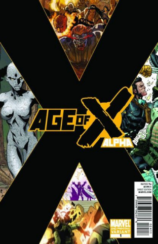 Age of X: Alpha #1 (AOX 2nd Printing)