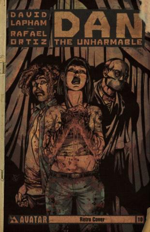 Dan the Unharmable #10 (Retro Cover)