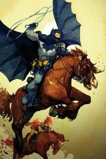 Dark Knight III: The Master Race #6 (Tocchini Cover)