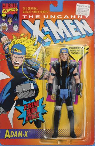 X-Men Legends #2 (Christopher Action Figure Cover)