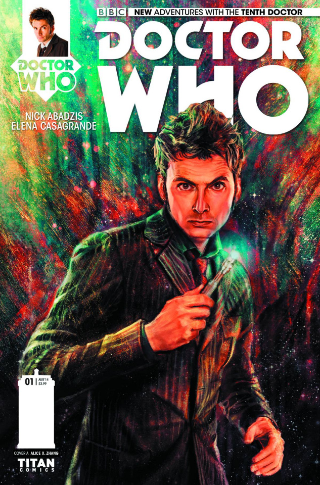 Doctor Who: New Adventures with the Tenth Doctor #1 (Zhang Cover)