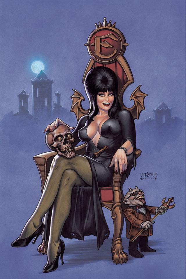 Elvira: Mistress of the Dark #1 (20 Copy Linsner Virgin Cover)