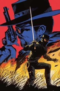 Django / Zorro #2 (15 Copy Francavilla Virgin Cover)