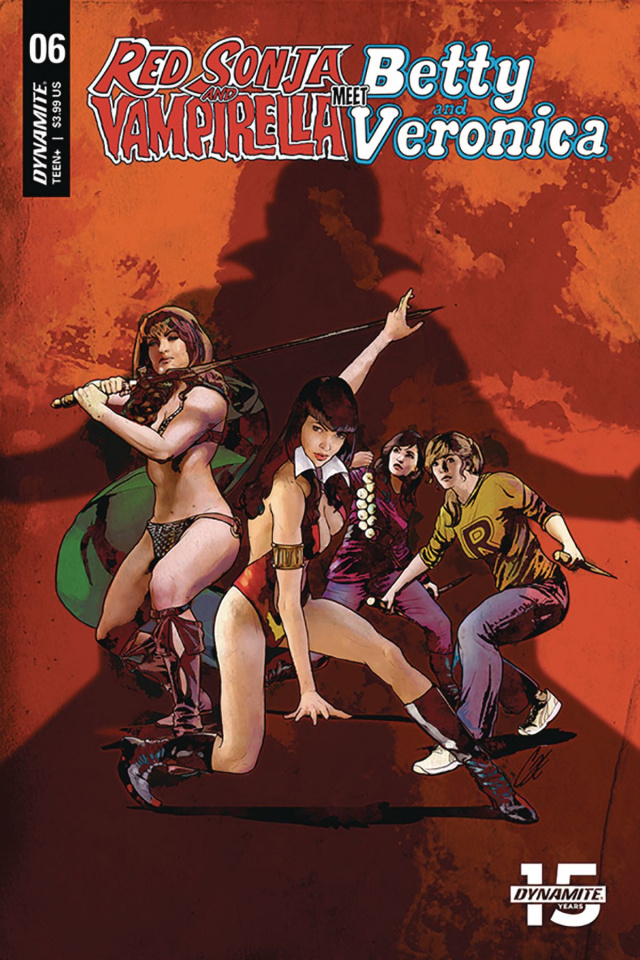 Red Sonja and Vampirella Meet Betty and Veronica #6 (Staggs Cover)