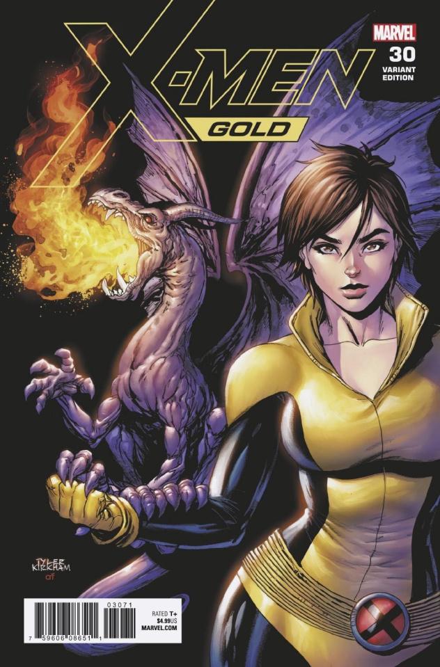 X-Men: Gold #30 (Kirkham Kitty Pryde Cover)
