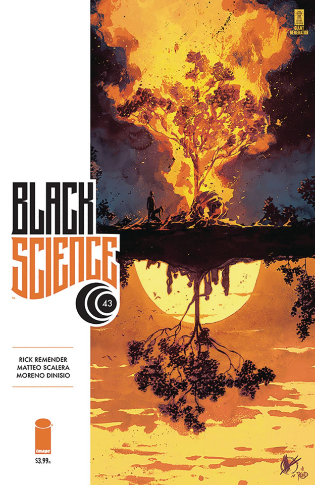 Black Science #43 (Scalera Cover)
