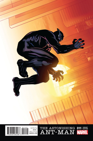 Astonishing Ant-Man #11 (Zonjic Black Panther Cover)