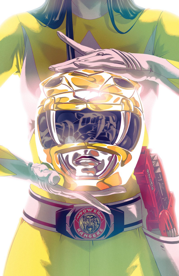 Mighty Morphin' Power Rangers #44 (Foil Montes Cover)