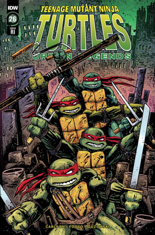 Teenage Mutant Ninja Turtles: Urban Legends #26 (10 Copy Eastman Cover)