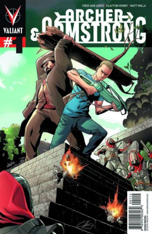 Archer & Armstrong #1 (2nd Printing)