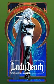 Lady Death #25 (Art Nouveau Cover)