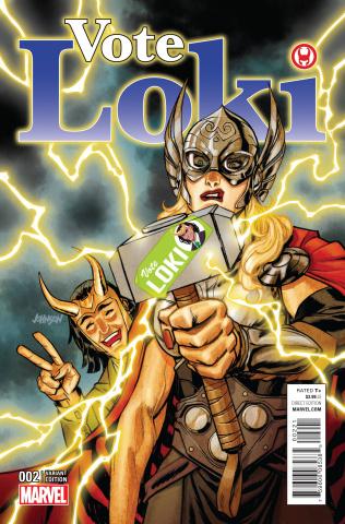 Vote Loki #2 (Dave Johnson Cover)