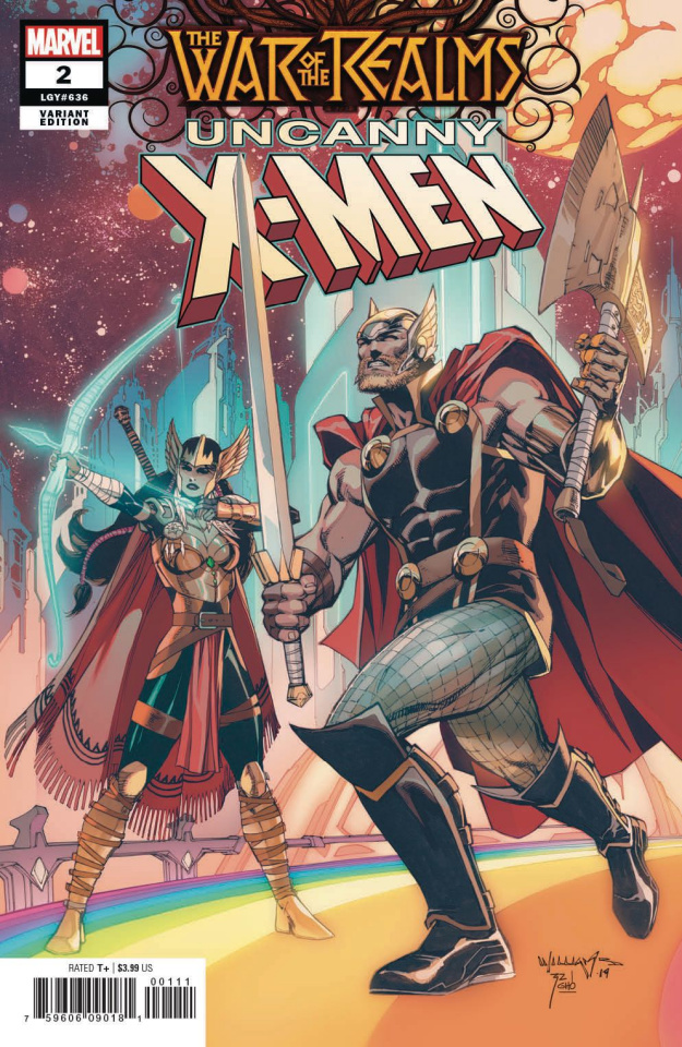 The War of the Realms: Uncanny X-Men #2 (Williams Cover)