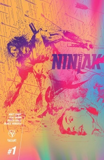 Ninjak #1 (10 Copy Hairsine & Muller Cover)
