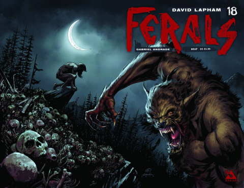 Ferals #18 (Wrap Cover)