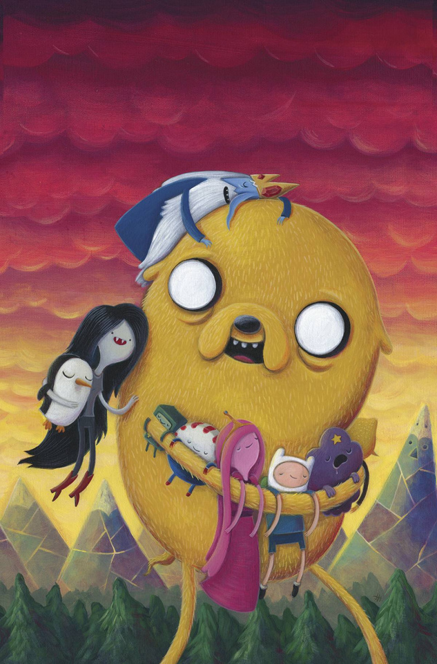 Adventure Time #37 (20 Copy Hillgrove Cover)