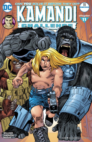 The Kamandi Challenge #11 (Variant Cover)