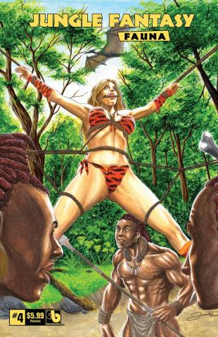 Jungle Fantasy: Fauna #4 (Painted Cover)