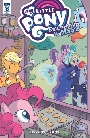 My Little Pony: Friendship Is Magic #63 (10 Copy Cover)