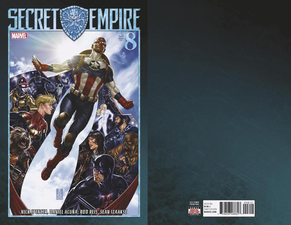 Secret Empire #8 (Brooks 2nd Printing)
