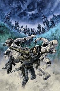 Star Wars: Rogue One #3 (Fegredo Concept Cover)