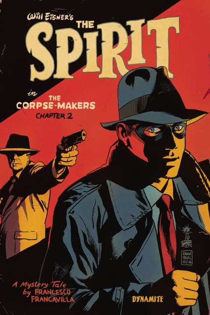 The Spirit: The Corpse-Makers #2 (Francavilla Cover)
