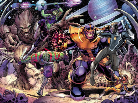 Guardians of the Galaxy #19