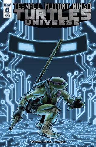 Teenage Mutant Ninja Turtles Universe #8 (Subscription Cover)