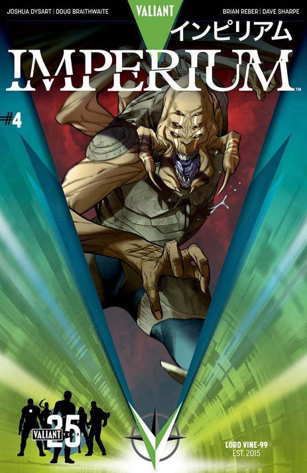 Imperium #4 (25th Anniversary Sandoval Cover)