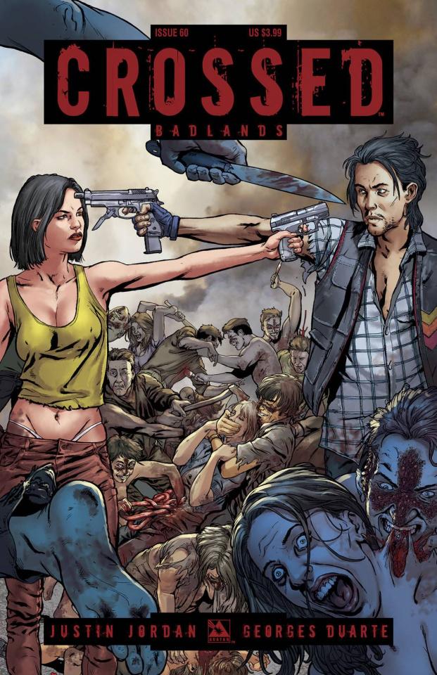 Crossed: Badlands #60 (Torture Cover)