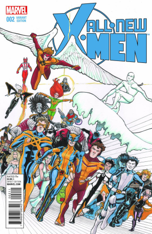 All-New X-Men #2 (Lee Cover)