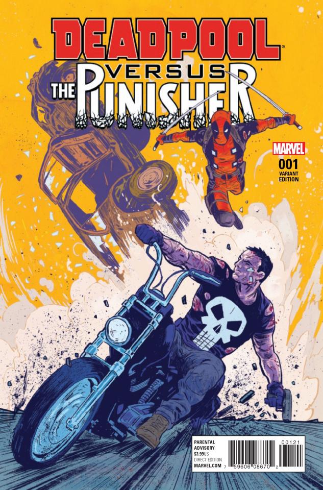 Deadpool vs. The Punisher #1 (Variant Cover)