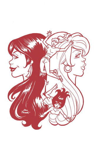 Red Sonja and Vampirella Meet Betty and Veronica #10 (15 Copy Parent Red Cover)