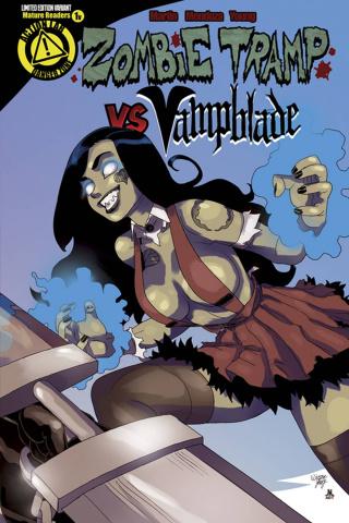 Zombie Tramp vs. Vampblade #1 (Zombie Tramp Cover)