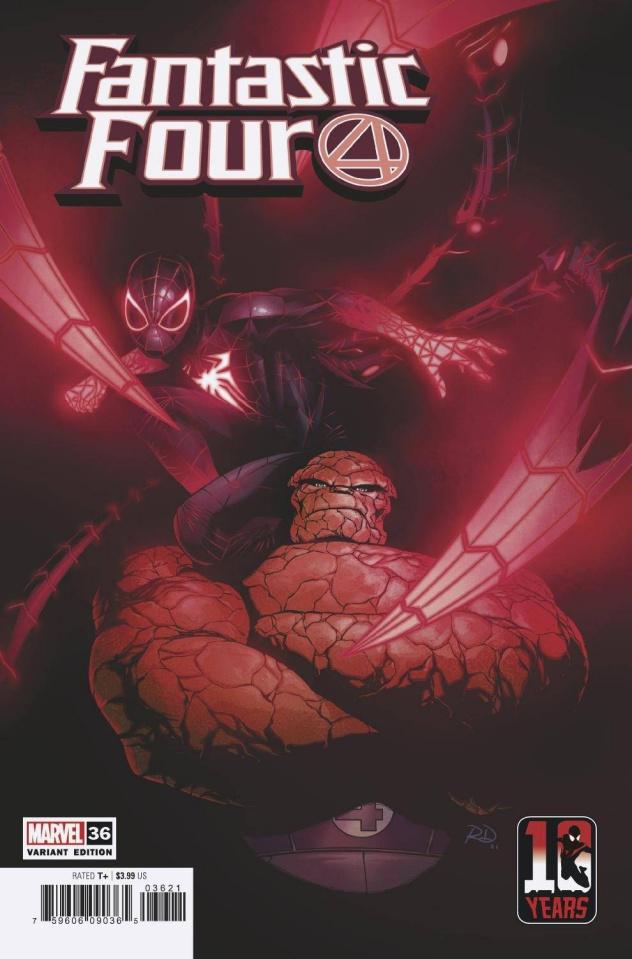 Fantastic Four #36 (Dauterman Miles Morales 10th Anniversary Cover)