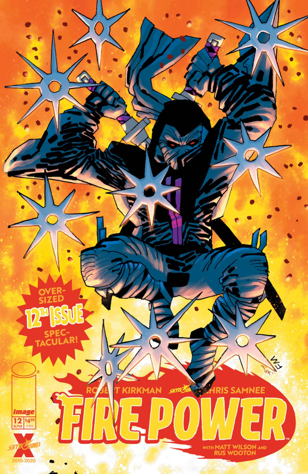 Fire Power #12 (Miller Cover)